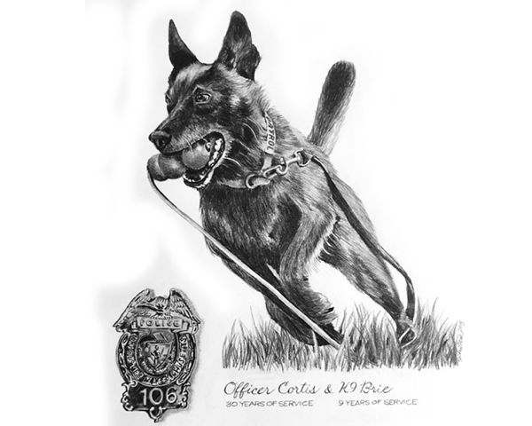 Pet Portrait Tattoo Black And White